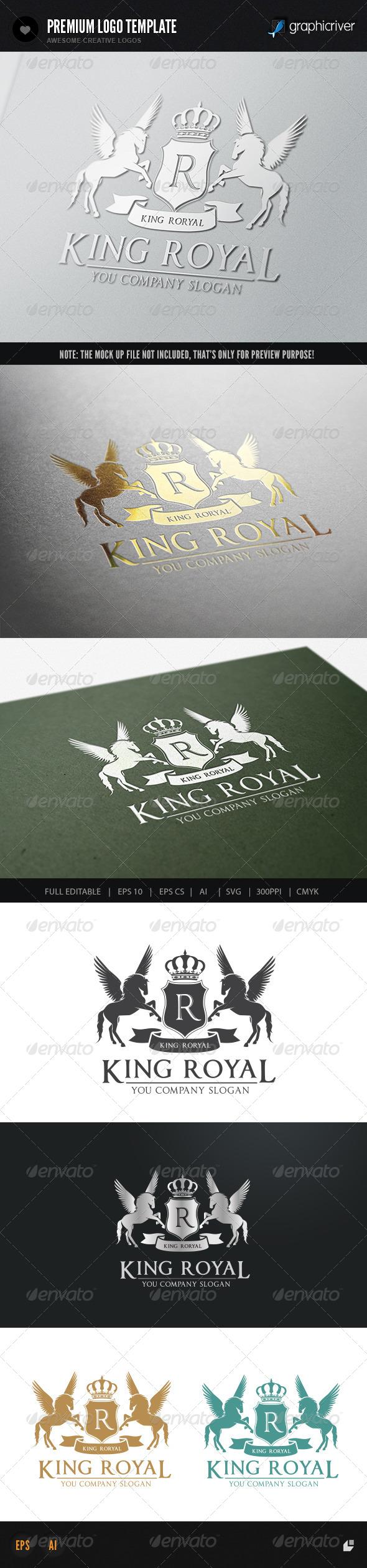 GraphicRiver King Royal II 7391488