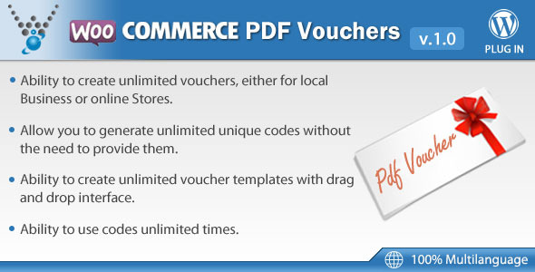 CodeCanyon WooCommerce PDF Vouchers WordPress Plugin 7392046