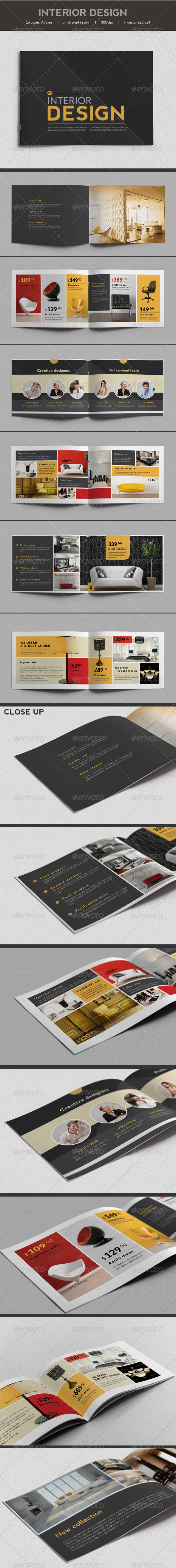 GraphicRiver Product Catalog 7392581