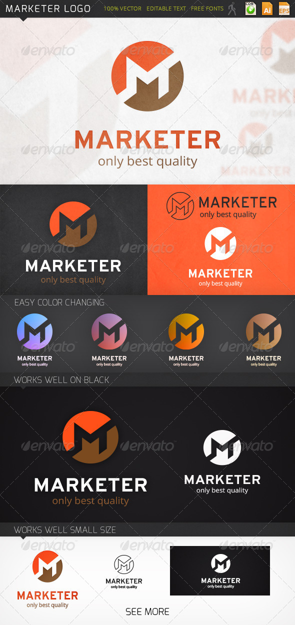 GraphicRiver Marketer Logo 7392727