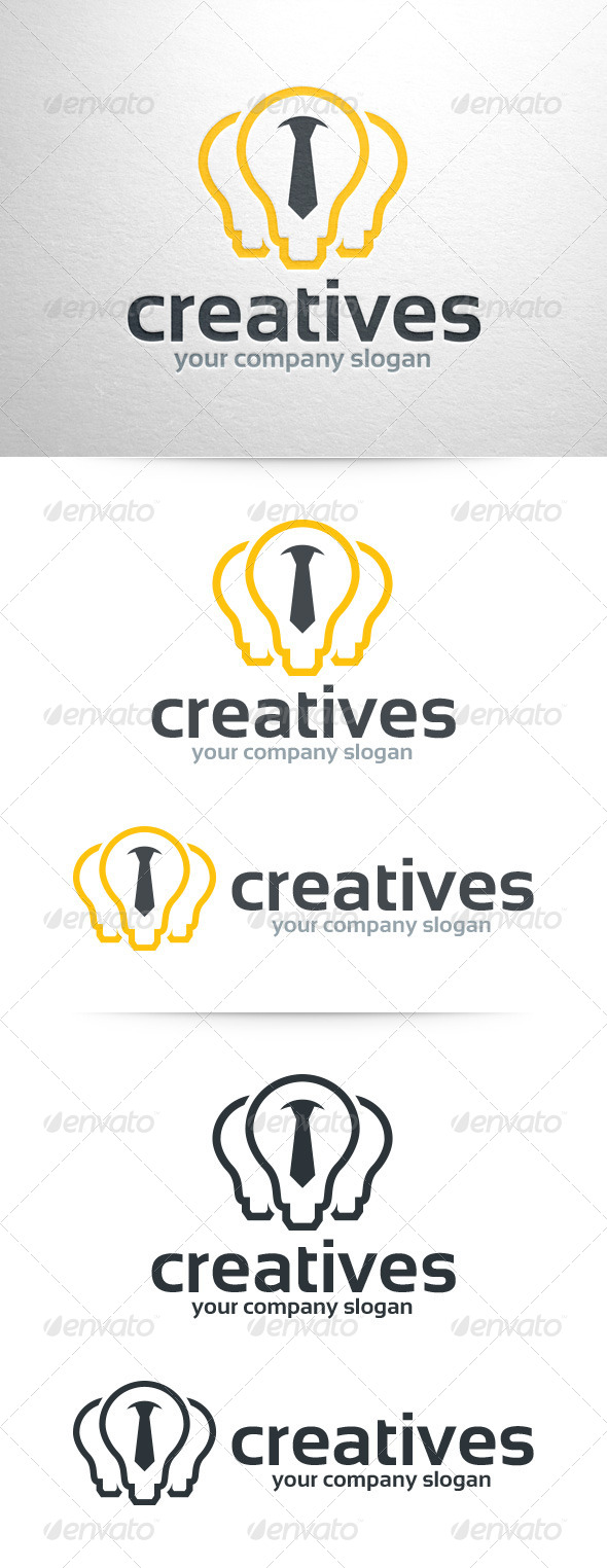 GraphicRiver Creative Company Logo Template 7393026