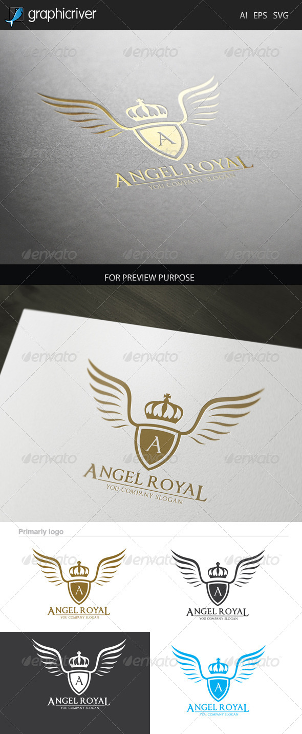 GraphicRiver Angel Royal logo 7352935