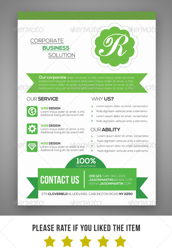 GraphicRiver Corporate Business Flyer V2 7393603
