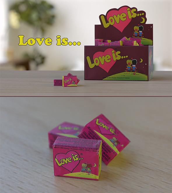 3DOcean Gum Love Is 7393823
