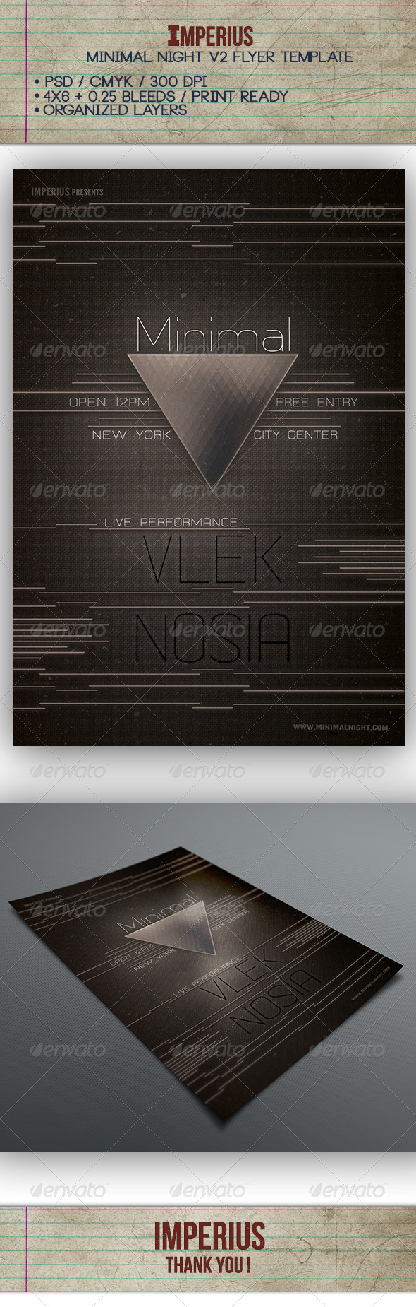 GraphicRiver Minimal Night V2 7393965