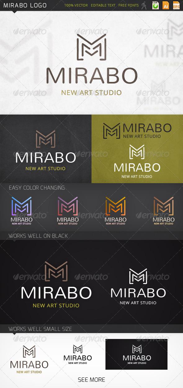 GraphicRiver Mirabo Logo 7394002