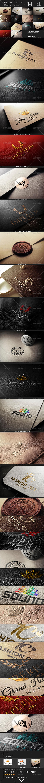GraphicRiver Photorealistic Logo Mock-Up Bundle 7394151