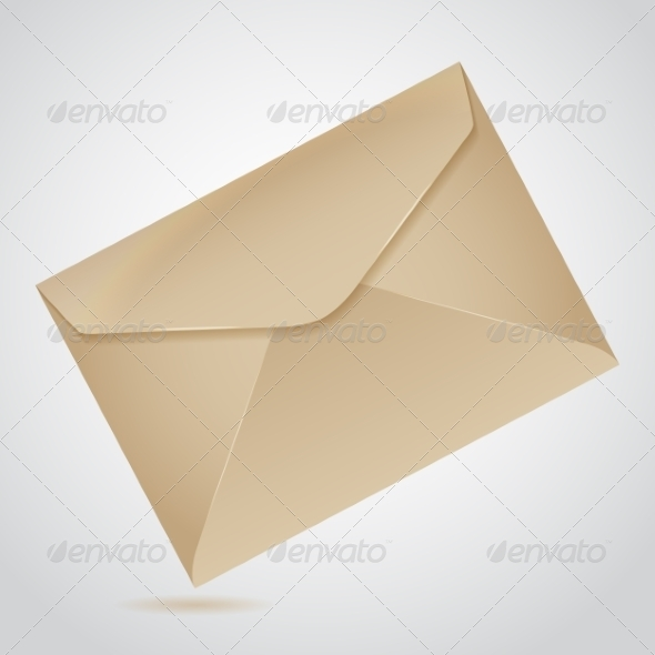 GraphicRiver Envelope of Brown Paper 7394594