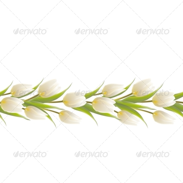 GraphicRiver Tulip Spring Flowers Bouquet for your Card Design 7394656