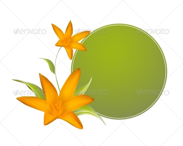 GraphicRiver Crocus Spring Flowers for your Card Design 7394663