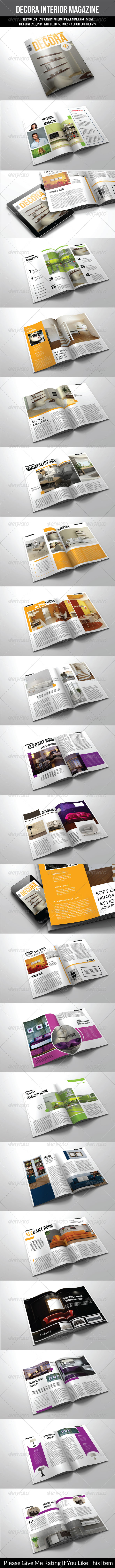 GraphicRiver 50 Pages A4 Indesign Magazine Template 7394852