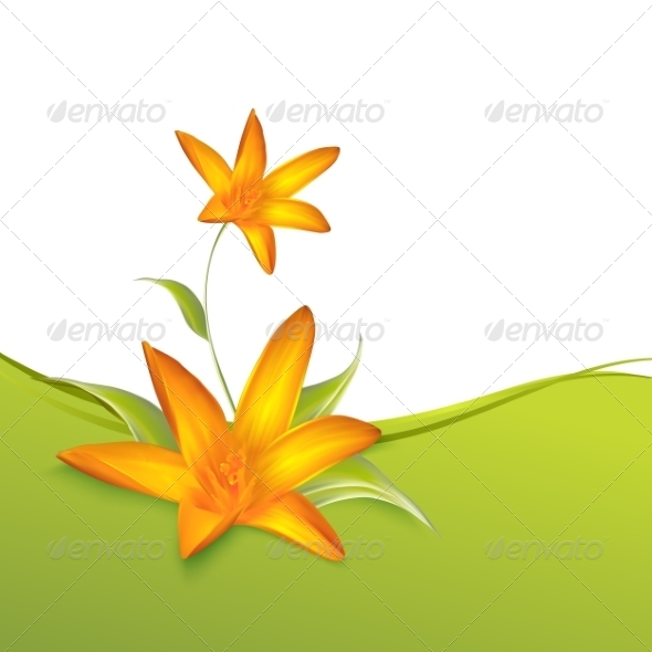 GraphicRiver Crocus Spring Flowers for your Card Design 7394866