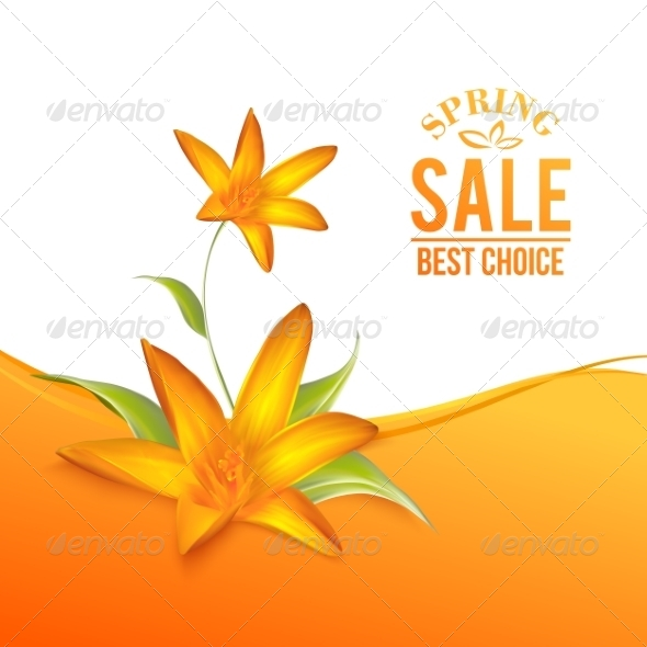 GraphicRiver Crocus Spring Flowers for your Card Design 7394918