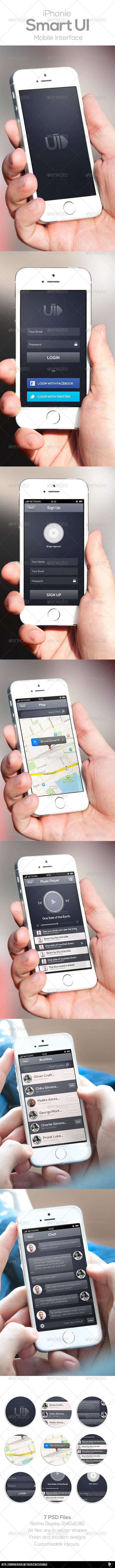 GraphicRiver Smart Mobile UI 7396035
