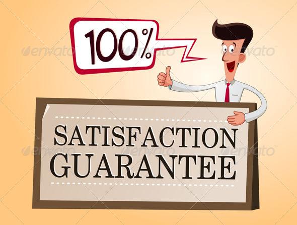 GraphicRiver Satisfaction Guarantee 7396181