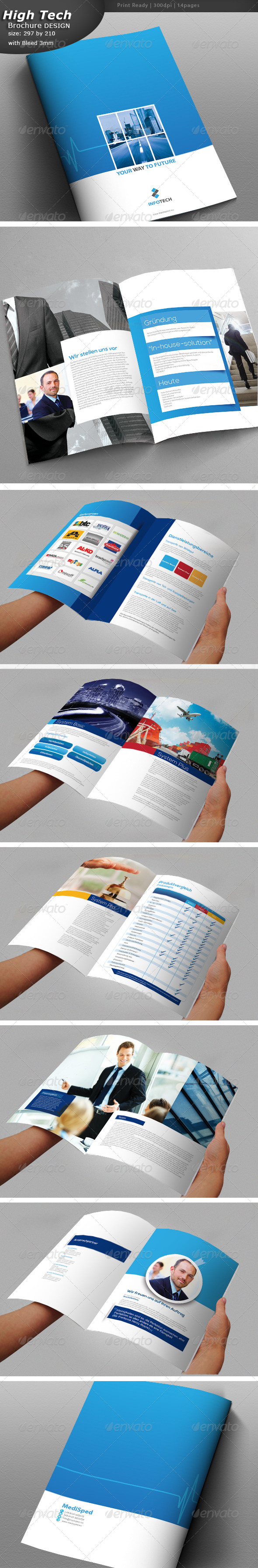 GraphicRiver Industrial Brochure Design 7396267
