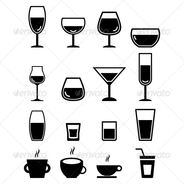 GraphicRiver Drink Icon 7396839