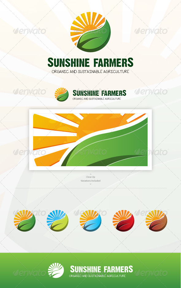 GraphicRiver Sunshine Farmers 7396979