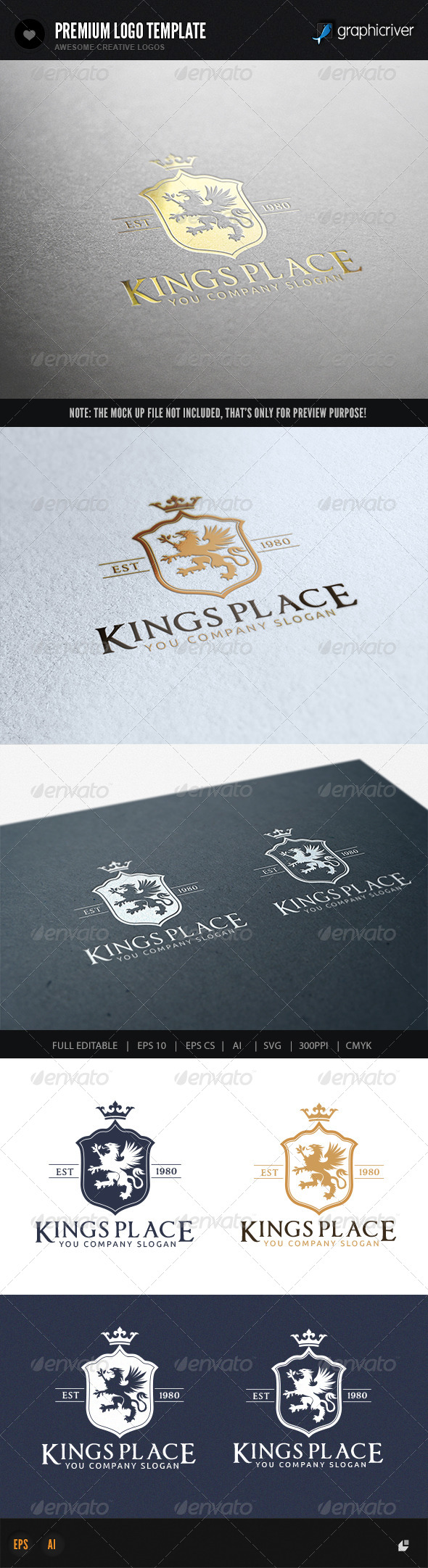 GraphicRiver Kings Place II 7397442