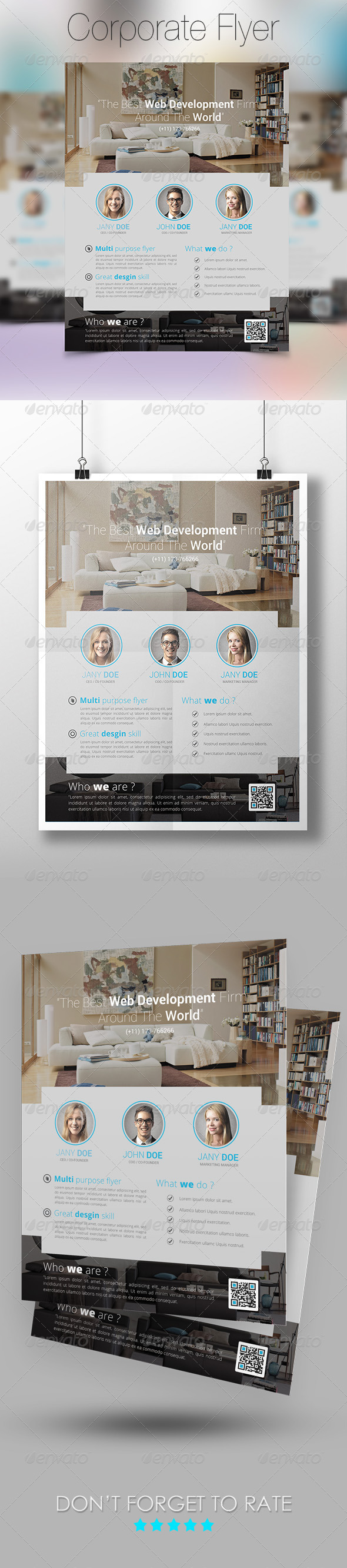 GraphicRiver Modern Flyer Template 7397603