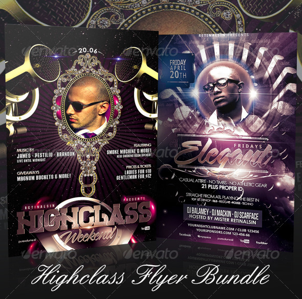 GraphicRiver Highclass Flyer Bundle 7397631