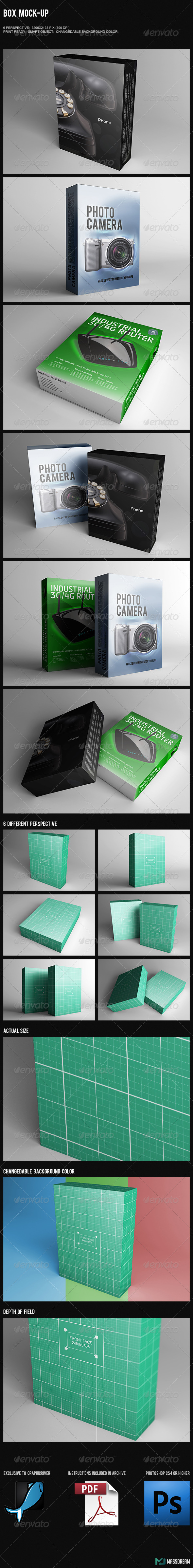 GraphicRiver Box Mock-Up 7397957