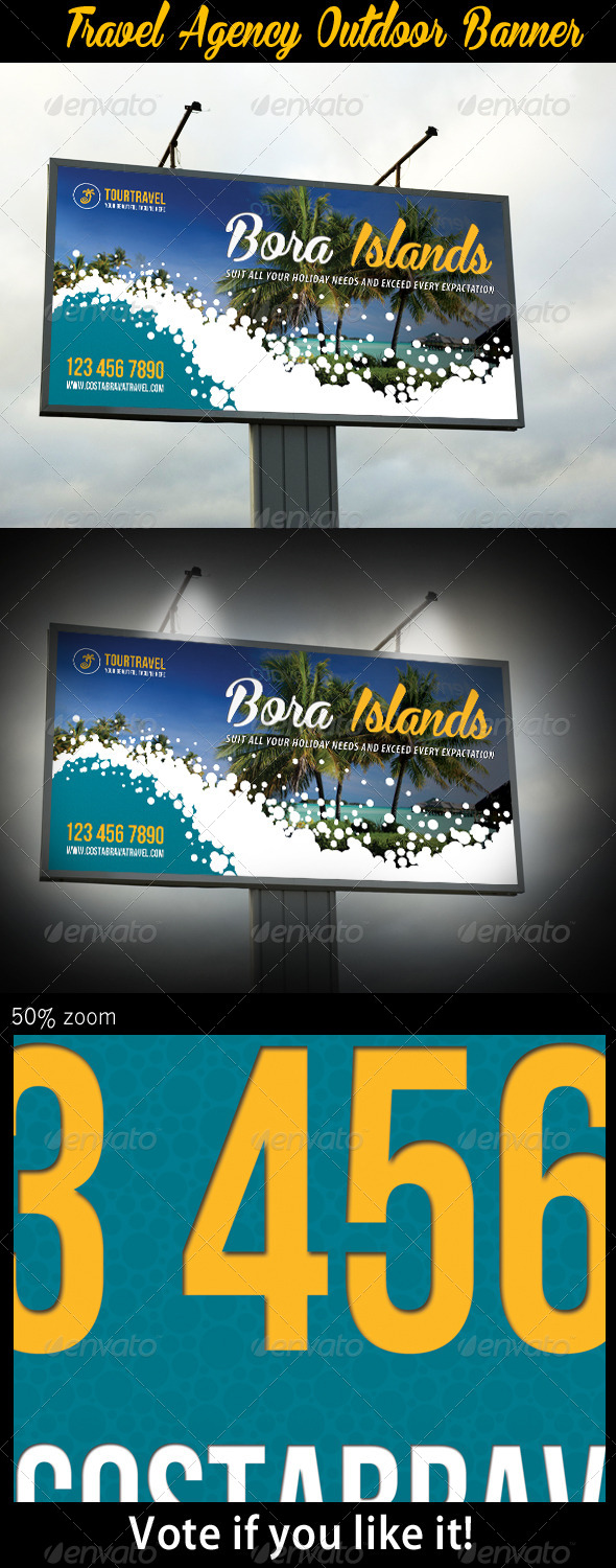 GraphicRiver Travel Agency Outdoor Banner 03 7398093