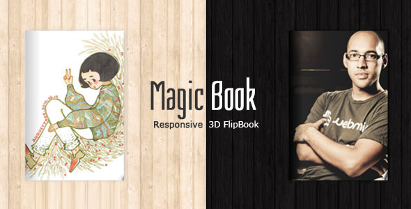 ThemeForest MagicBook 3D Responsive Flip Book HTML Theme 7273418