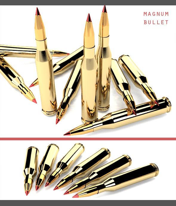 3DOcean Magnum Bullet 7398280