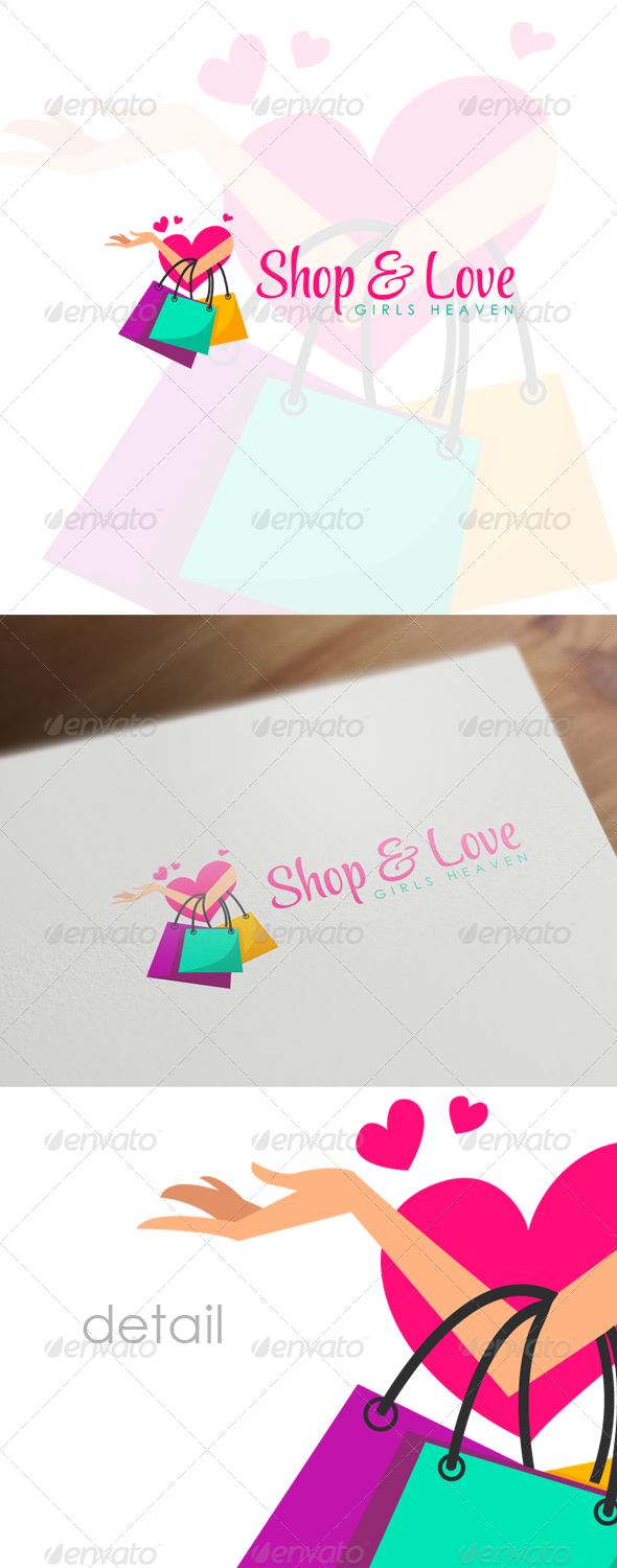 GraphicRiver Fashion Shop Retail Boutique & Fashion Logo 7399234
