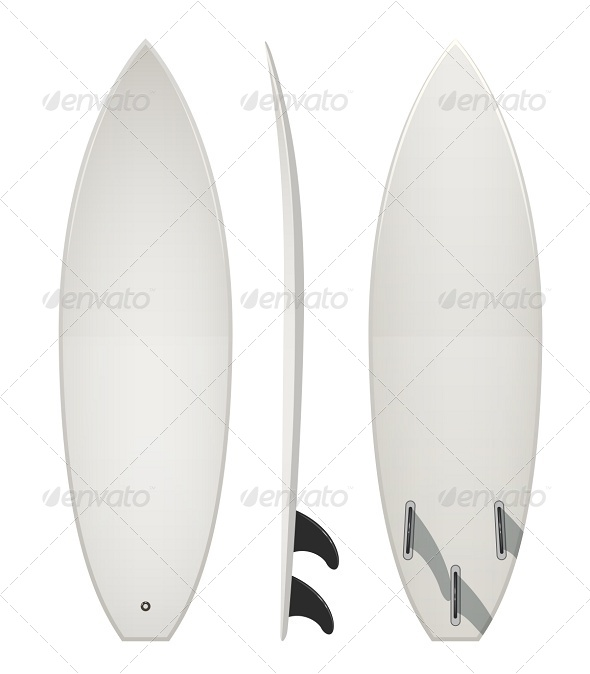 GraphicRiver Surfing Board 7399752