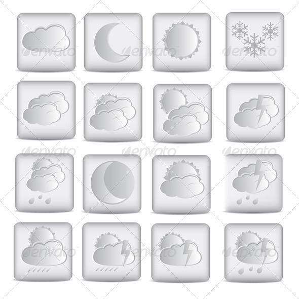 GraphicRiver Weather Icons 7399792