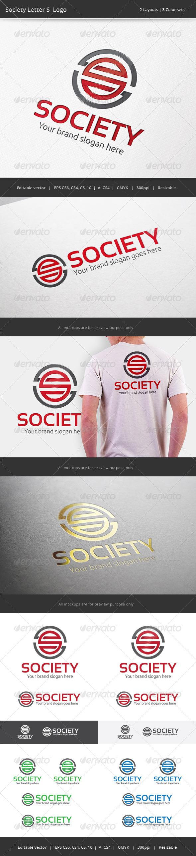 GraphicRiver Society Letter S Logo 7399830