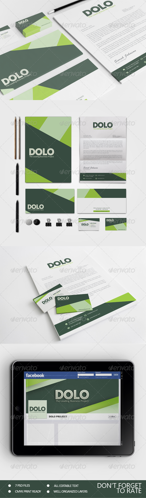 GraphicRiver Dolo Corporate Identity 7400264