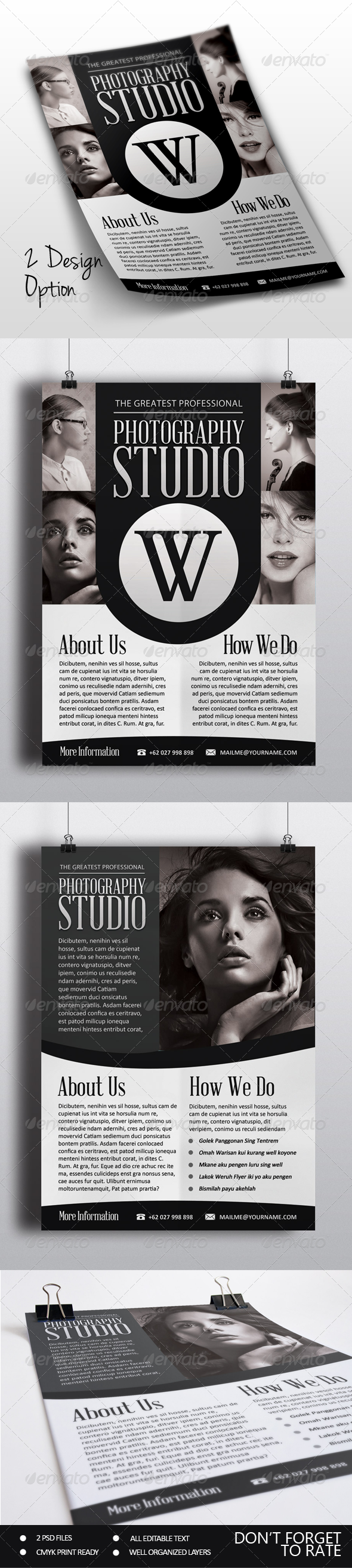 GraphicRiver Photography Flyer 7400308