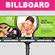 Multipurpose Business Billboard Template  - GraphicRiver Item for Sale