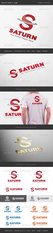 GraphicRiver Saturn Letter S Logo 7401539