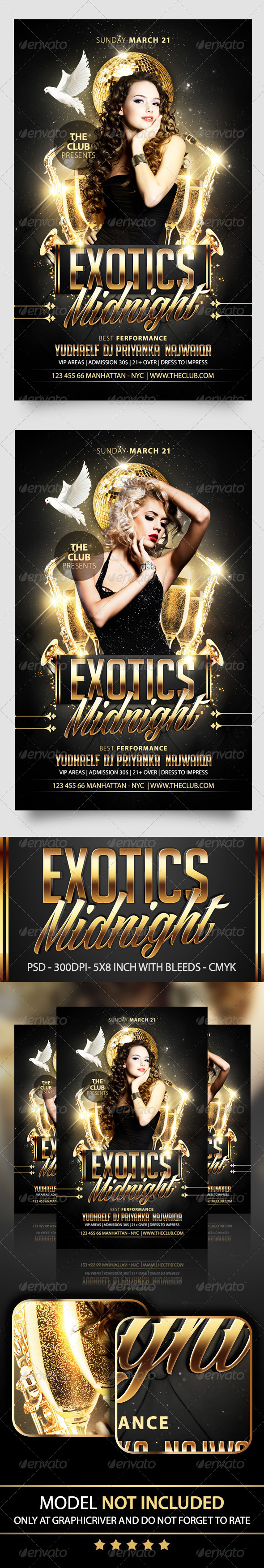 GraphicRiver Exotics Flyer Template 7401545