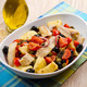 Mackerels with potatoes,tomatoes,capers and olives - PhotoDune Item for Sale