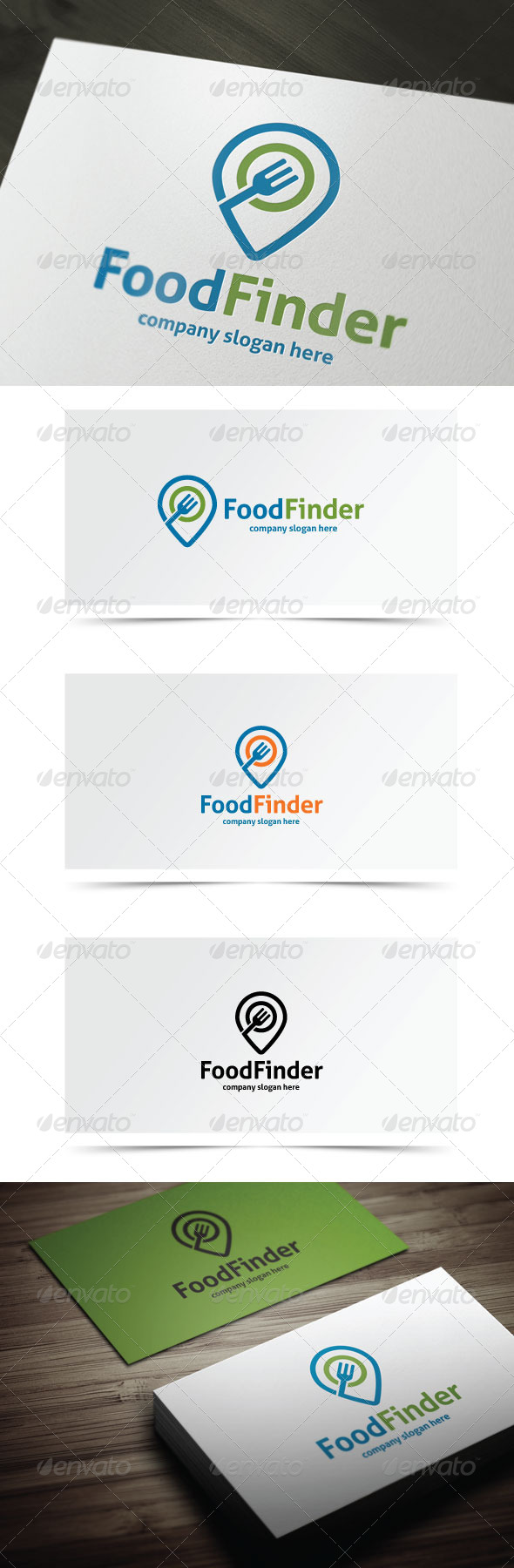 GraphicRiver Food Finder 7401562