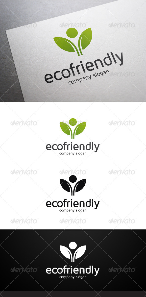 GraphicRiver Eco Friendly Logo 7401648