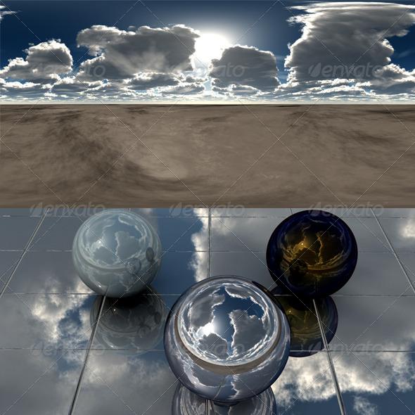 3DOcean Desert 107 7401874