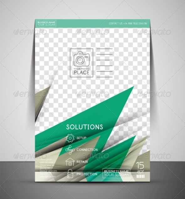 GraphicRiver CMYK Business Corporate Flyer Template 7401966
