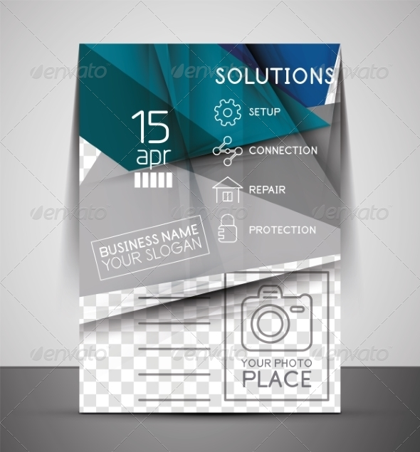 GraphicRiver CMYK Business Corporate Flyer Template 7402626