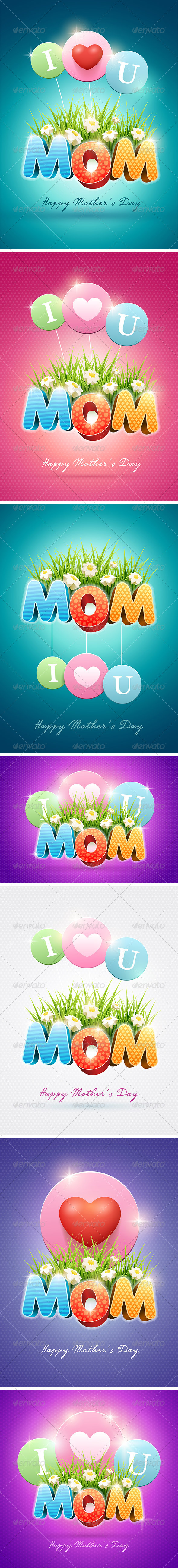 GraphicRiver Mother s Day Design Collection 7402673