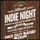 Vintage Indie Night Flyer/Poster - GraphicRiver Item for Sale