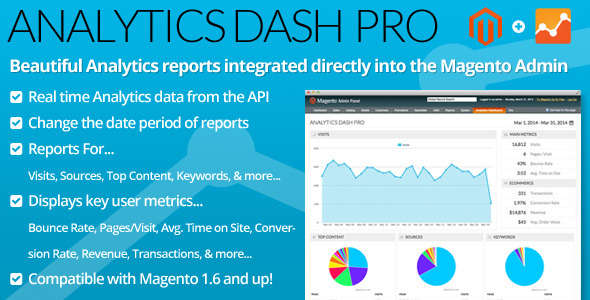 CodeCanyon Analytics Dash Pro 7361607