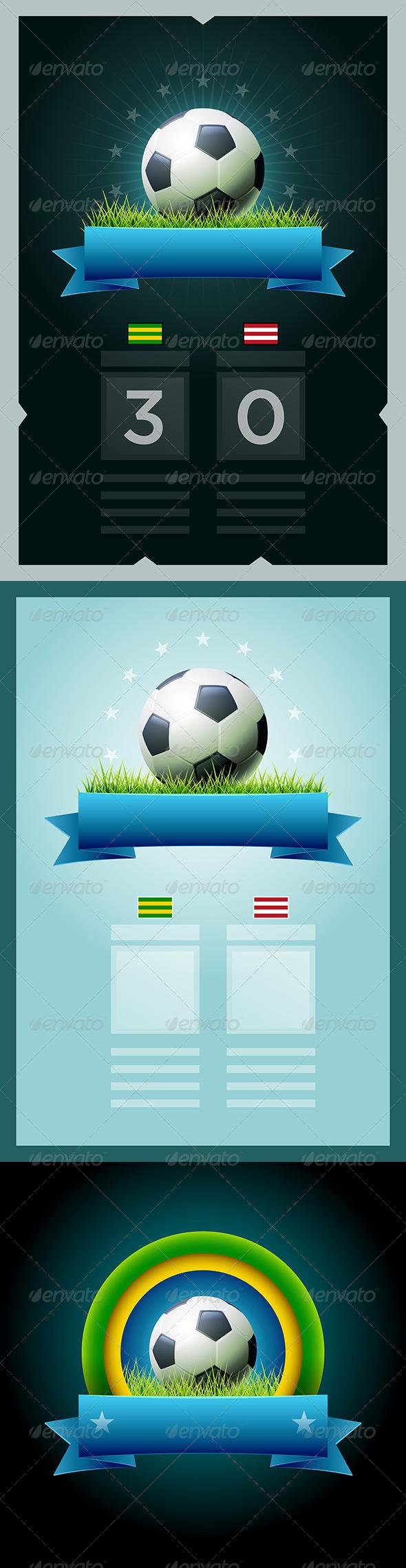 GraphicRiver Soccer Scoreboard Design 7402722