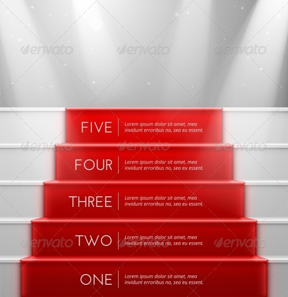 GraphicRiver Five Steps 7403528