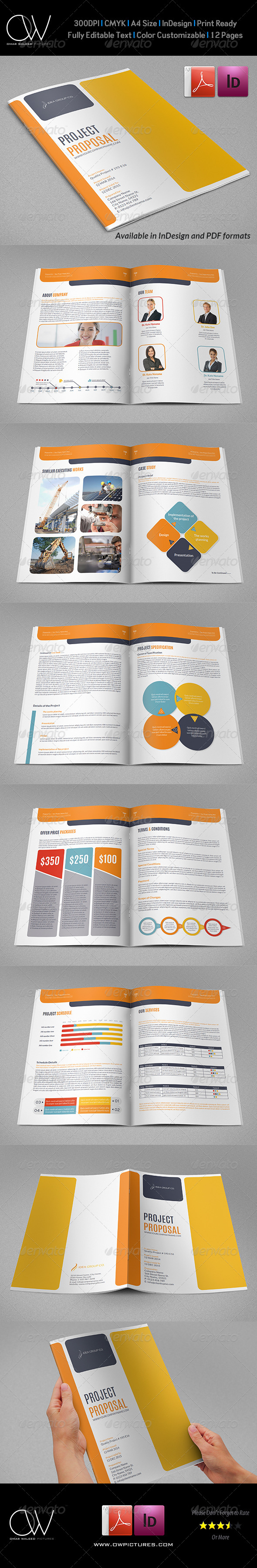 GraphicRiver Company Proposal Template Vol.2 7403531